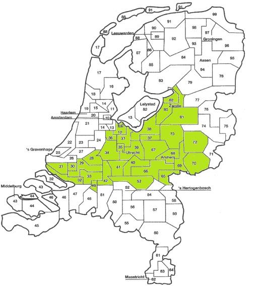 Werkgebied Uitvaartsupport Nederland Vanuit Ede & Leerdam
