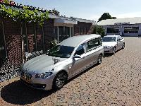 BMW rouwstoet zilvergrijs