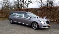 Cadillac rouwauto antraciet